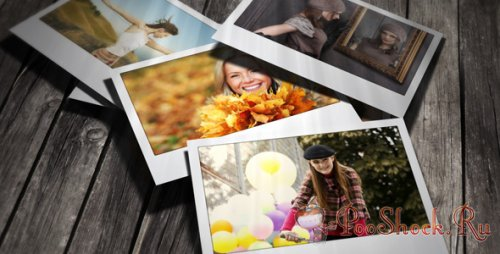 VideoHive - Falling Photos 2 (AE Project)