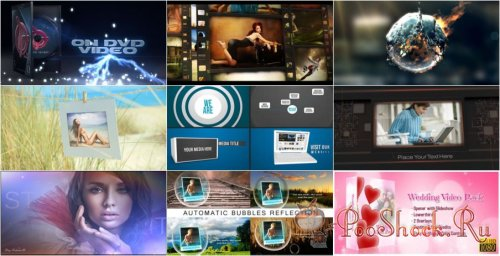 VideoHivePack-4 (After Effects Projects Pack)