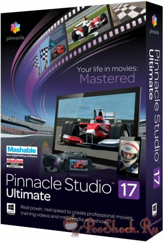 Pinnacle Studio Ultimate 17.5.0.327 +Standard Content +Bonus Content +Plugins