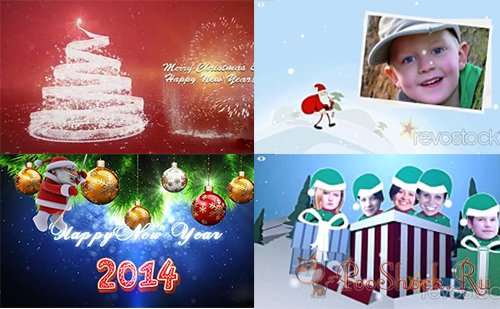 project pack New Year and Christmas (After Effects)