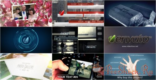 VideoHivePack-22 (After Effects Projects Pack)