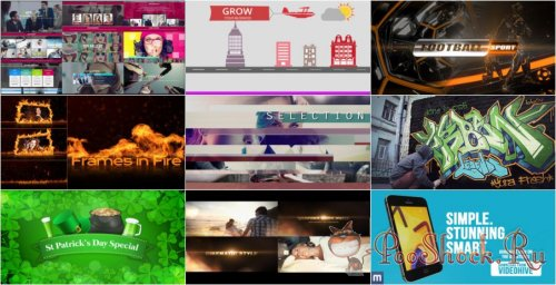 VideoHivePack-30 (After Effects Projects Pack)