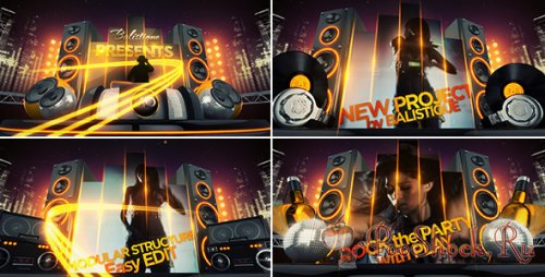 Videohive - PLAY: club  party promo (.aep)