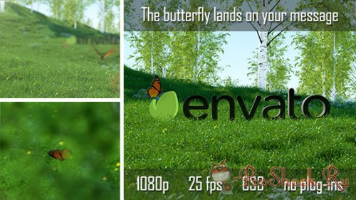 VideoHive - Butterfly Logo Reveal