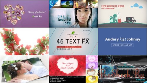 VideoHivePack-44 (After Effects Projects Pack)