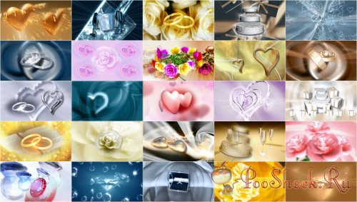 FootageFirm - Love & Marriage HD Looping Backgrounds