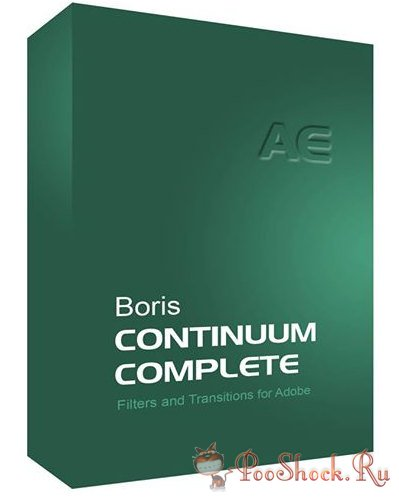 Boris Continuum Complete 9.0.1051 for After Effects