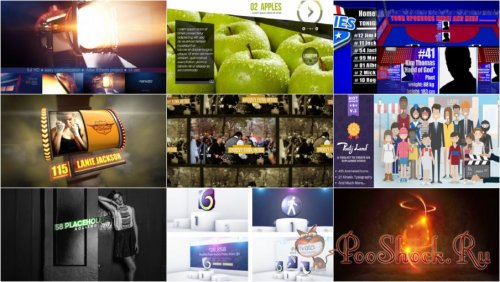 VideoHivePack-70 (After Effects Projects Pack)