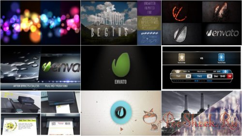 VideoHivePack-71 (After Effects Projects Pack)