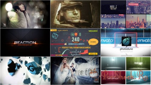 VideoHivePack-72 (After Effects Projects Pack)