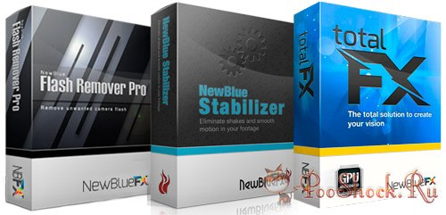NewBlue TotalFX 3.0.140730 + Flash Remover Pro 3.0.140730 + Stabilizer 1.4.140730