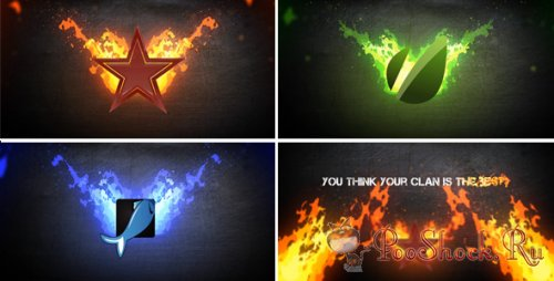 Videohive - Fire Logo (.aep)