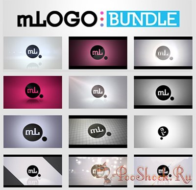motionVFX - mLogo 1,2,3 for Motion 5 and Final Cut Pro X