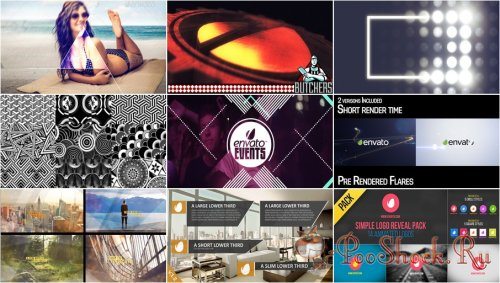 VideoHivePack-92 (After Effects Projects Pack)