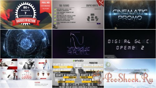VideoHivePack-93 (After Effects Projects Pack)