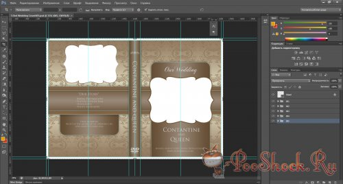 GraphicRiver - 5 Beautiful Wedding DVD Ver 3.0 (.psd)