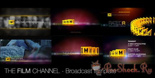 Videohive - The Film Channel (.aep)
