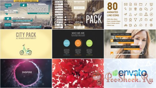 VideoHivePack-106 (After Effects Projects Pack)