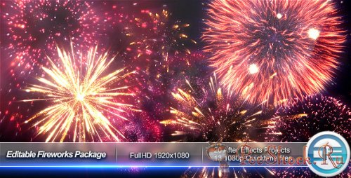 VideoHive - Editable Fireworks Package