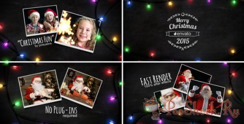 Videohive - Christmas Light Slideshow (.aep)