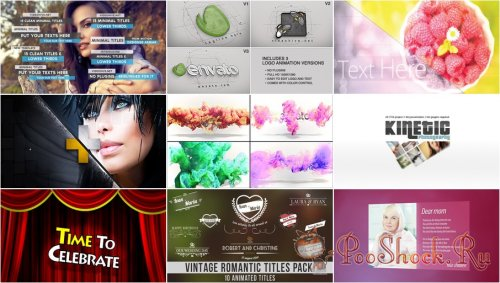 VideoHivePack - 119 (After Effects Projects Pack)