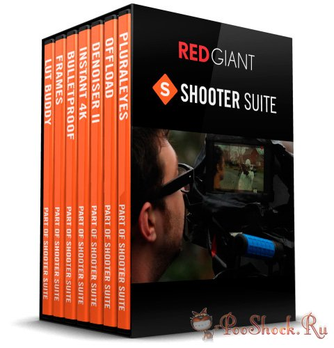 Red Giant Shooter Suite 12.6.3
