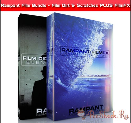 Rampant Design Tools – Film Dirt & Scratches + FilmFX (.mov)