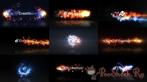 VideoHive -  Quick Logo Sting Pack 07: Energetic Particles