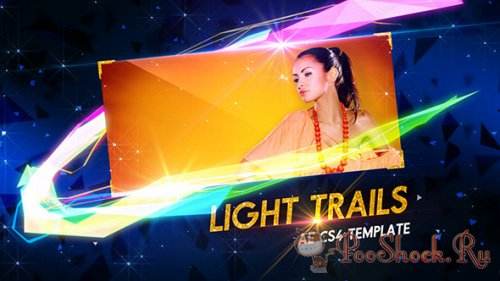VideoHive - Light Trails (.aep)