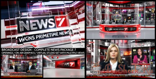 VideoHive - Broadcast Design - Complete News Package 7