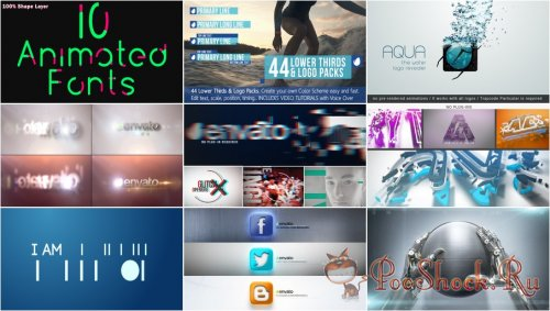 VideoHivePack - 137 (After Effects Projects Pack)