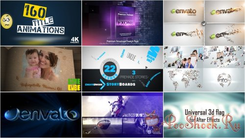VideoHivePack - 138 (After Effects Projects Pack)