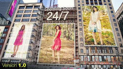 VideoHive - City - Ads on Buildings (.aep)