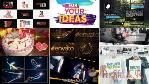 VideoHivePack - 140 (After Effects Projects Pack)
