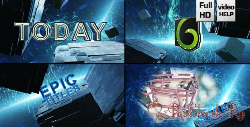 VideoHive - Epic Cube Trailer (.aep)
