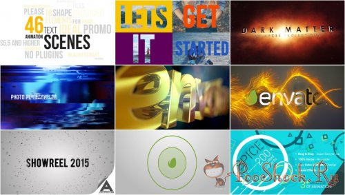 VideoHivePack - 145 (After Effects Projects Pack)