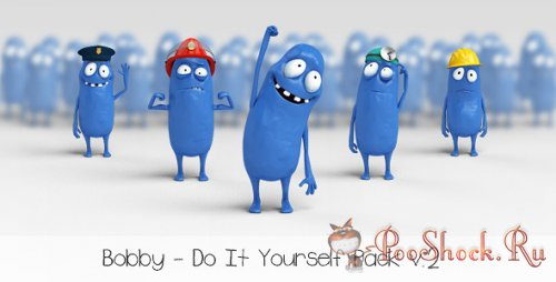 VideoHive - Bobby - Character Animation DIY Pack (.aep)