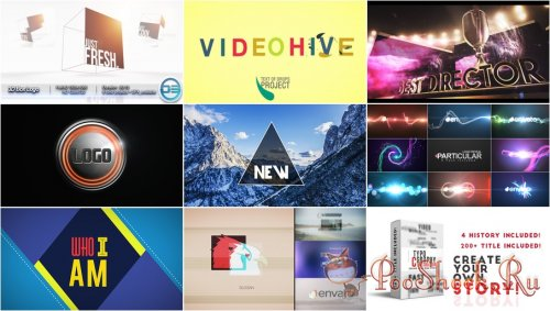 VideoHivePack - 147 (After Effects Projects Pack)