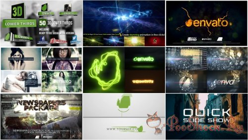 VideoHivePack - 149 (After Effects Projects Pack)