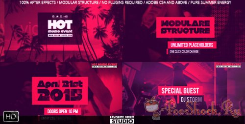 VideoHive - Hot Music Event (.aep)