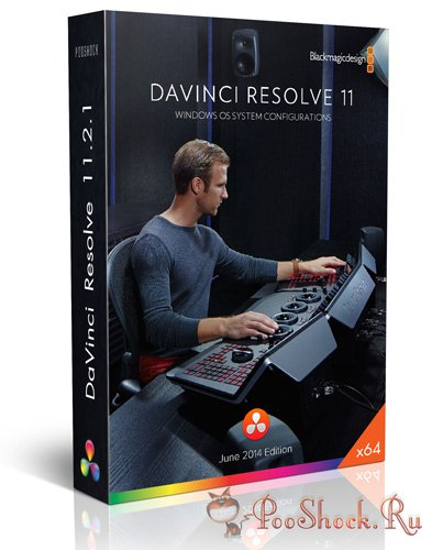 Blackmagic Design - DaVinci Resolve 11.2.1