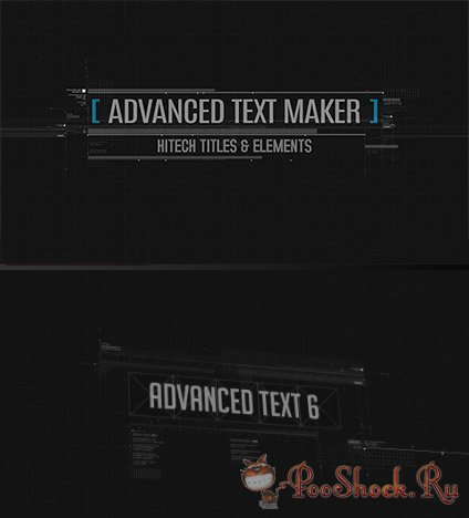 VideoHive - Advanced Text Maker (.aep)