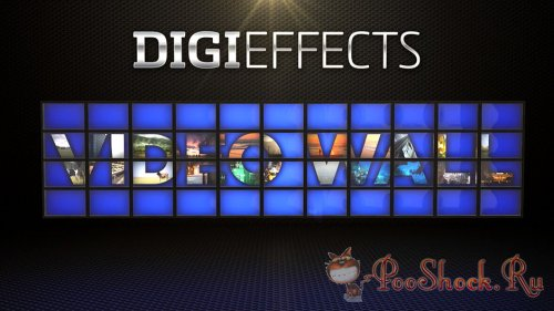 Digieffects - VideoWall 1.0 (After Effects Plug-In)