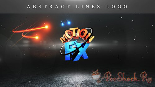 VideoHive - Abstract lines logo (.aep)