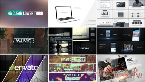 VideoHivePack - 156 (After Effects Projects Pack)