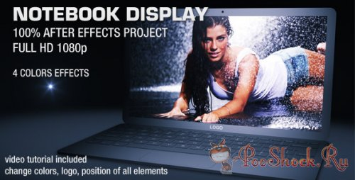 VideoHive - Notebook Display (.aep)