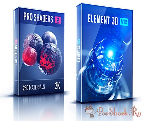 Pro Shaders Element 3D