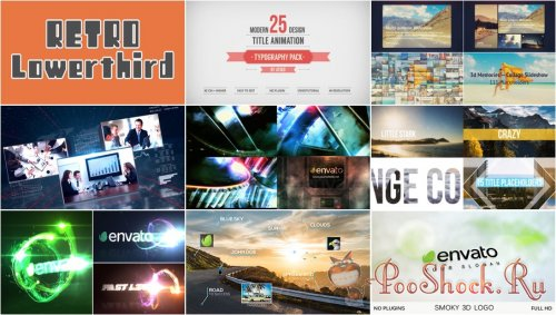 VideoHivePack - 167 (After Effects Projects Pack)