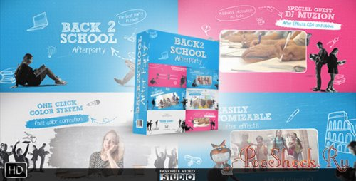VideoHive - Back 2 School After Party (.aep)