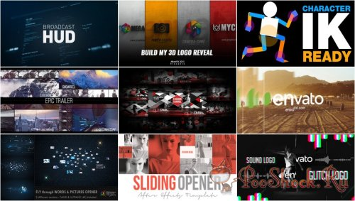 VideoHivePack - 184 (After Effects Projects Pack)